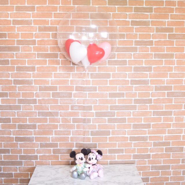 ディズニーランド限定ぬいぐるみ付バルーンギフト【誕生日 ミッキー&ミニー プレゼント パーティー バルーン 結婚式 ヘリウム ヘリウムガス 送料無料】