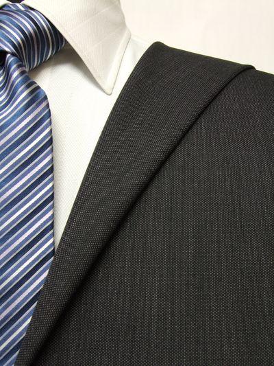 プレミアム グレー系 織柄 オーダースーツ 秋冬用素材 ウール100% ポリ0% 87446-55