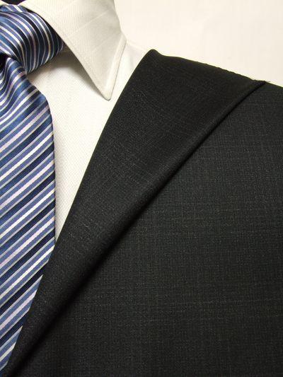 レダ グレー系 チェック オーダースーツ 秋冬用素材 ウール100% ポリ0% 87823-50
