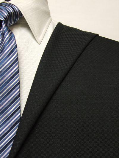 エグゼグティブ グレー系 織柄 オーダースーツ 春夏用素材 ウール65% ポリ35% 5bc828