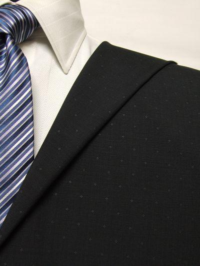 レダ グレー系 織柄 オーダースーツ 春夏用素材 ウール100% ポリ0% 85869-56