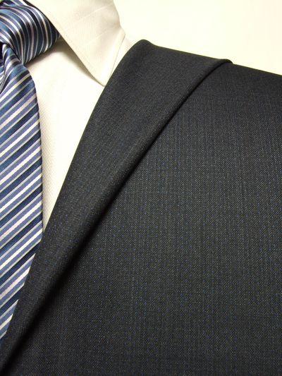 エグゼグティブ グレー系 織柄 オーダースーツ 秋冬用素材 ウール70% ポリ30% 5cc924