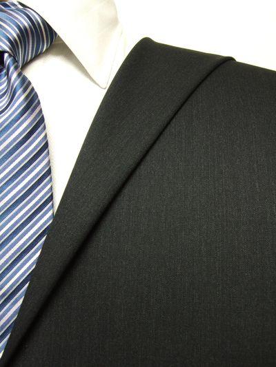 プレミアム ネイビー系 無地 オーダースーツ 秋冬用素材 ウール100% ポリ0% 87521-44