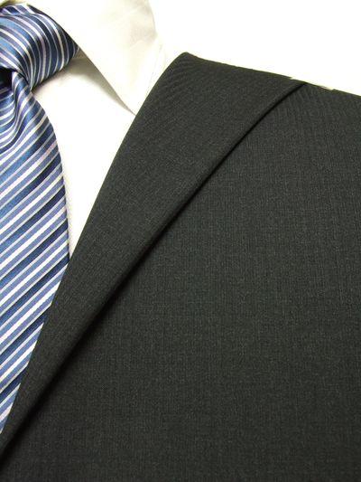 レダ グレー系 シャドー ストライプ オーダースーツ 秋冬用素材 ウール100% ポリ0% 97821-50