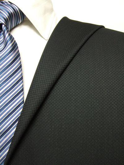 カノニコ グレー系 織柄 オーダースーツ 秋冬用素材 ウール100% ポリ0% 97842-33
