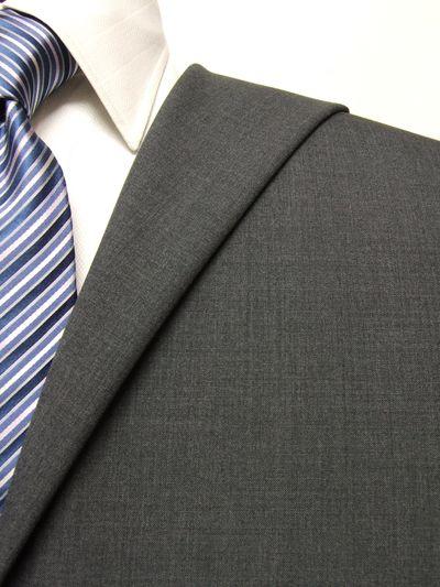 ファーストコレクション グレー系 無地 オーダースーツ 春夏用素材 ウール70% ポリ30% 95435-60