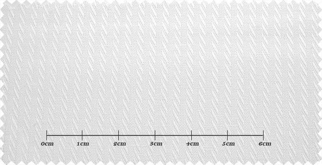 ファーストコレクション ホワイト系 シャドーストライプ オーダーシャツ 綿50% ポリ50% 3000310044