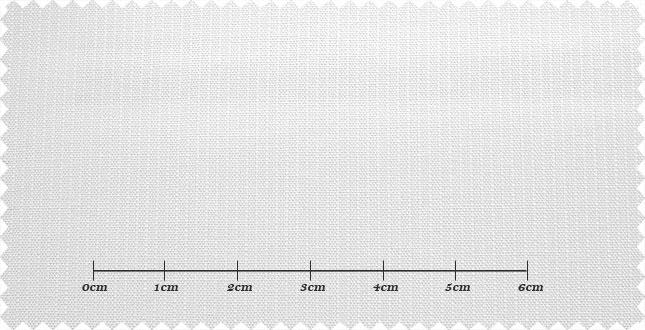 ファーストコレクション ホワイト系 シャドーストライプ オーダーシャツ 綿50% ポリ50% 3000310048