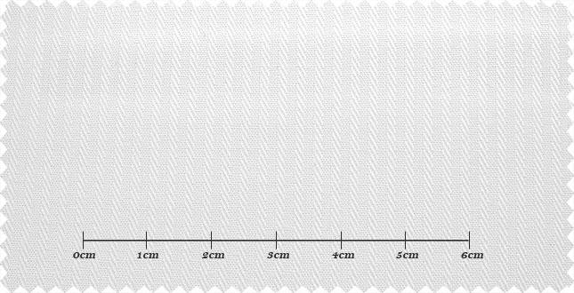 ファーストコレクション ホワイト系 シャドーストライプ オーダーシャツ 綿50% ポリ50% 3000310049