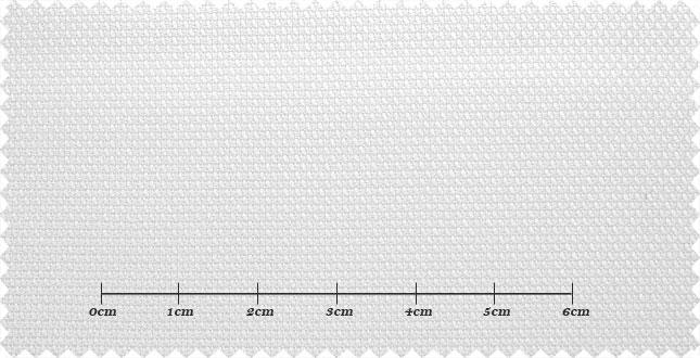 ファーストコレクション ホワイト系 織柄 オーダーシャツ 綿50% ポリ50% 3000350001