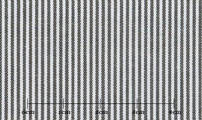 ファーストコレクション グレー系 ストライプ オーダーシャツ 綿50% ポリ50% 3090330399
