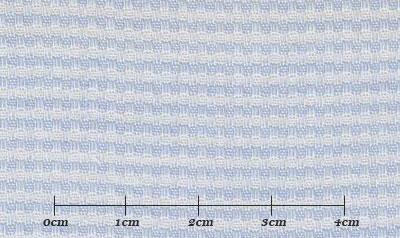 ファーストコレクション ブルー系 織柄 オーダーシャツ 綿50% ポリ50% 3090340428