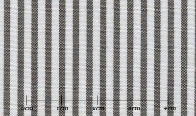 ファーストコレクション グレー系 ストライプ オーダーシャツ 綿50% ポリ50% 3090350002