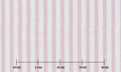 ファーストコレクション ピンク系 ストライプ オーダーシャツ 綿50% ポリ50% 3090350005