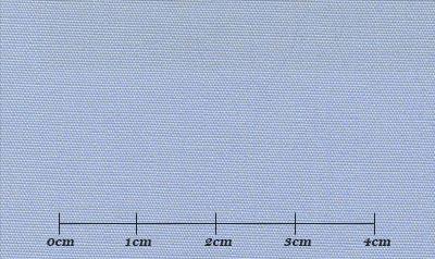ファーストコレクション ブルー系 無地 オーダーシャツ 綿35% ポリ65% 3110320001