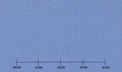 ファーストコレクション ブルー系 無地 オーダーシャツ 綿35% ポリ65% 3110320014