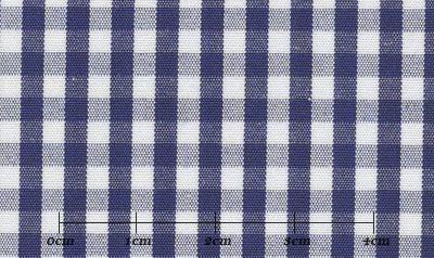 ハイクオリティ ブルー系 チェック オーダーシャツ 綿100% ポリ00% 4920740122