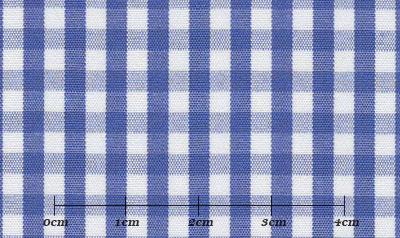 ハイクオリティ ブルー系 チェック オーダーシャツ 綿100% ポリ00% 4920740123
