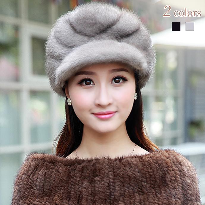 キャスケット ミンクファー 帽子 ミンクハット 小顔効果 ふわふわ 暖かい レディース 帽子 ぼうし 毛皮ハット 柔らかい ファー帽子 毛皮帽子 リアルファー 冬 冬物 レディースハット ファッション おしゃれ プレゼント ギフト 新品 mink fur hat