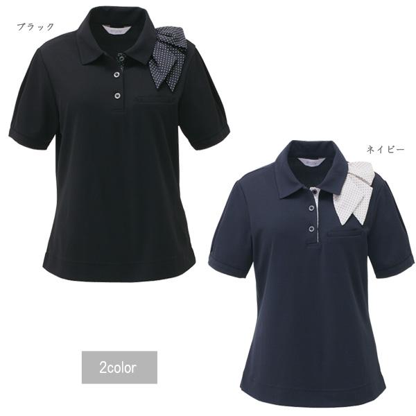 お取り寄せ商品 カーシー 事務服 ポロシャツ S 無料サンプルOK M L 3L エンジョイ 販売 ENJOY LL 1枚までメール便可 KAESEE ESP403