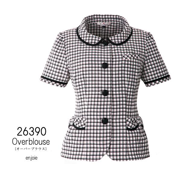 【ジョア】事務服 オーバーブラウス(21/23/25 号)大きいサイズ 26390 JOIE