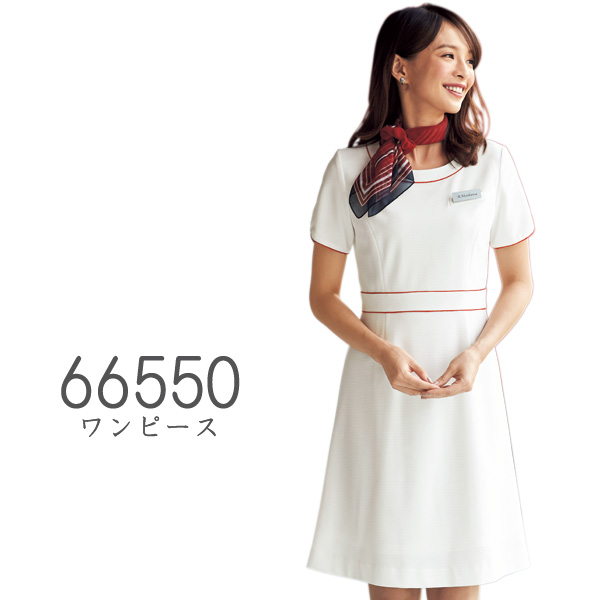 【ジョア】事務服 ワンピース(5-15号)66550 JOIE華やぎコンシェルジュ ガーネットシリーズ