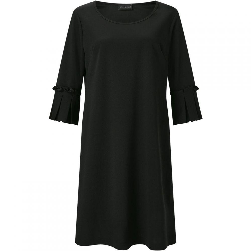 ジュームズ レイクランド James Lakeland レディース ワンピース ワンピース・ドレス【PLEATED CUFF DRESS】Black