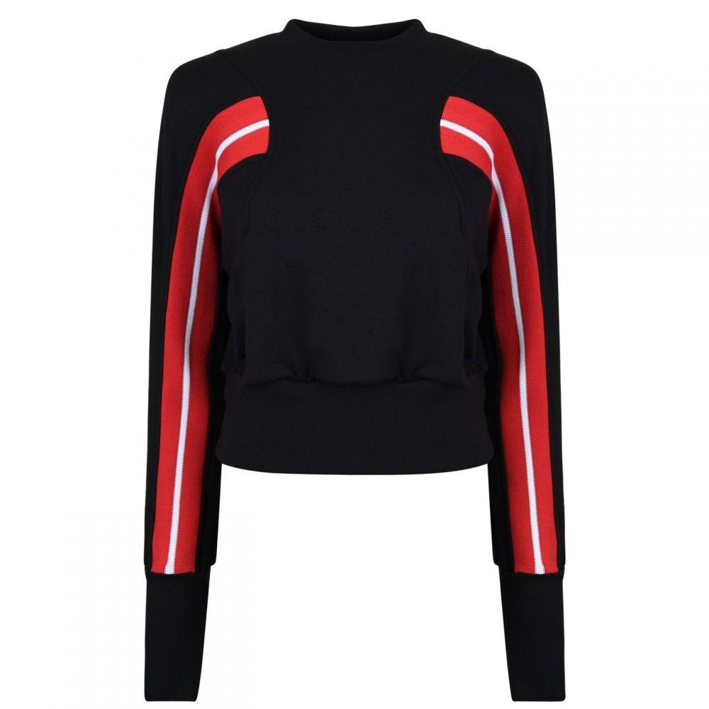 トゥエンティー TWENTY レディース スウェット・トレーナー トップス【Cropped Sweatshirt】Jet Black