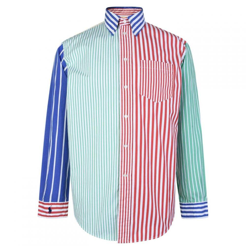 ラルフ ローレン POLO RALPH LAUREN レディース ブラウス・シャツ トップス【Striped Cotton Big Shirt】Multi
