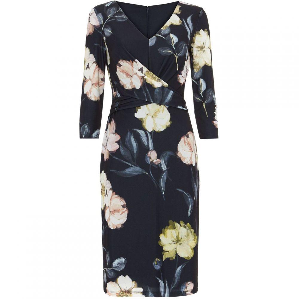 フェイズ エイト Phase Eight レディース ワンピース ワンピース・ドレス【Marina Floral Dress】Navy
