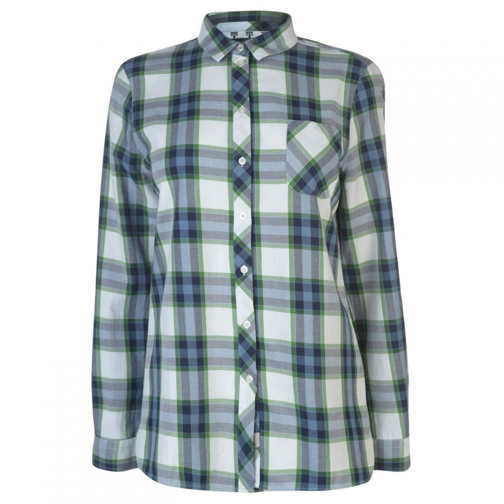 バブアー Barbour Lifestyle レディース ブラウス・シャツ トップス【Barbour International Little Hampton Shirt】NAVY/CLOVER
