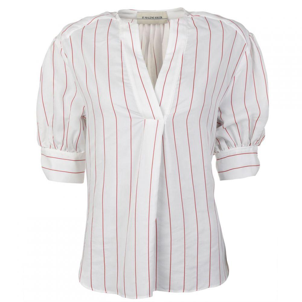 バイ マレーネ ビルガー BY MALENE BIRGER レディース ブラウス・シャツ トップス【Brigidah Shirt】White P