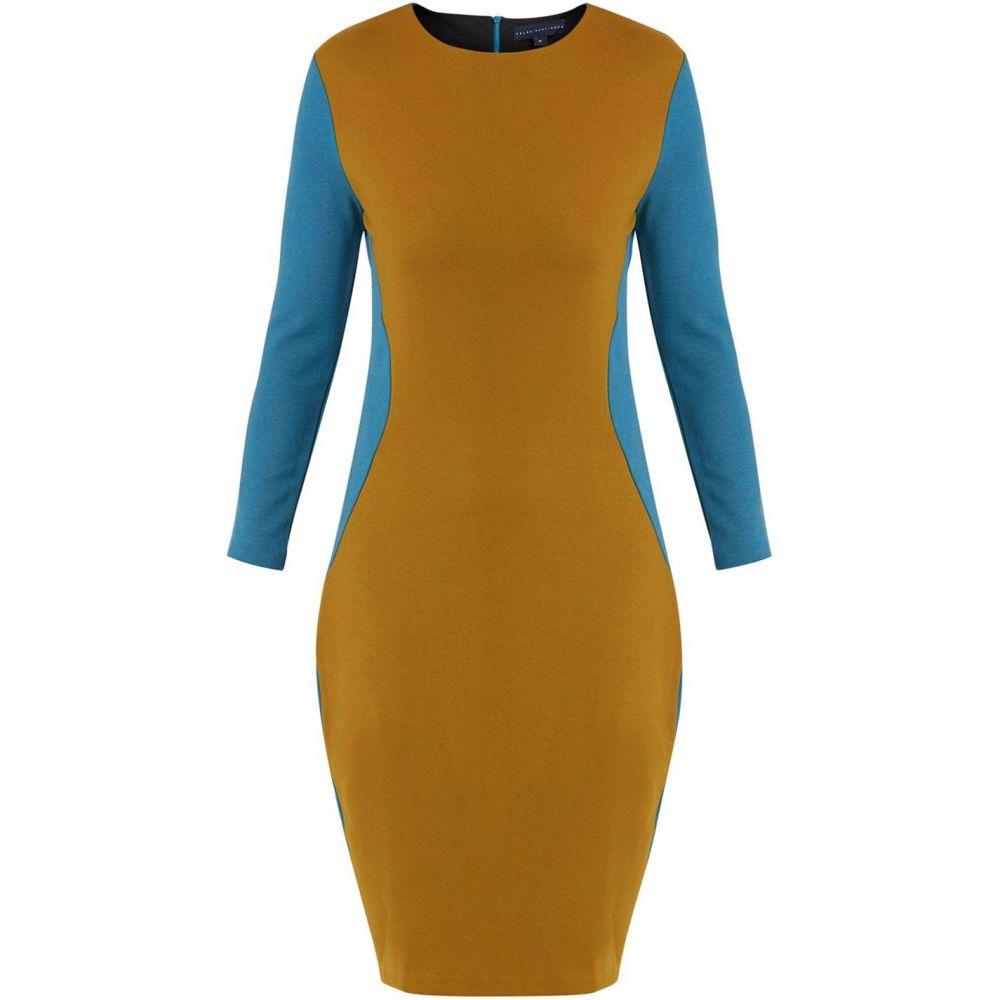 ヘレンマクアリンデン Helen McAlinden レディース パーティードレス ワンピース・ドレス【Trudy Teal/Mustard Dress】Mustard