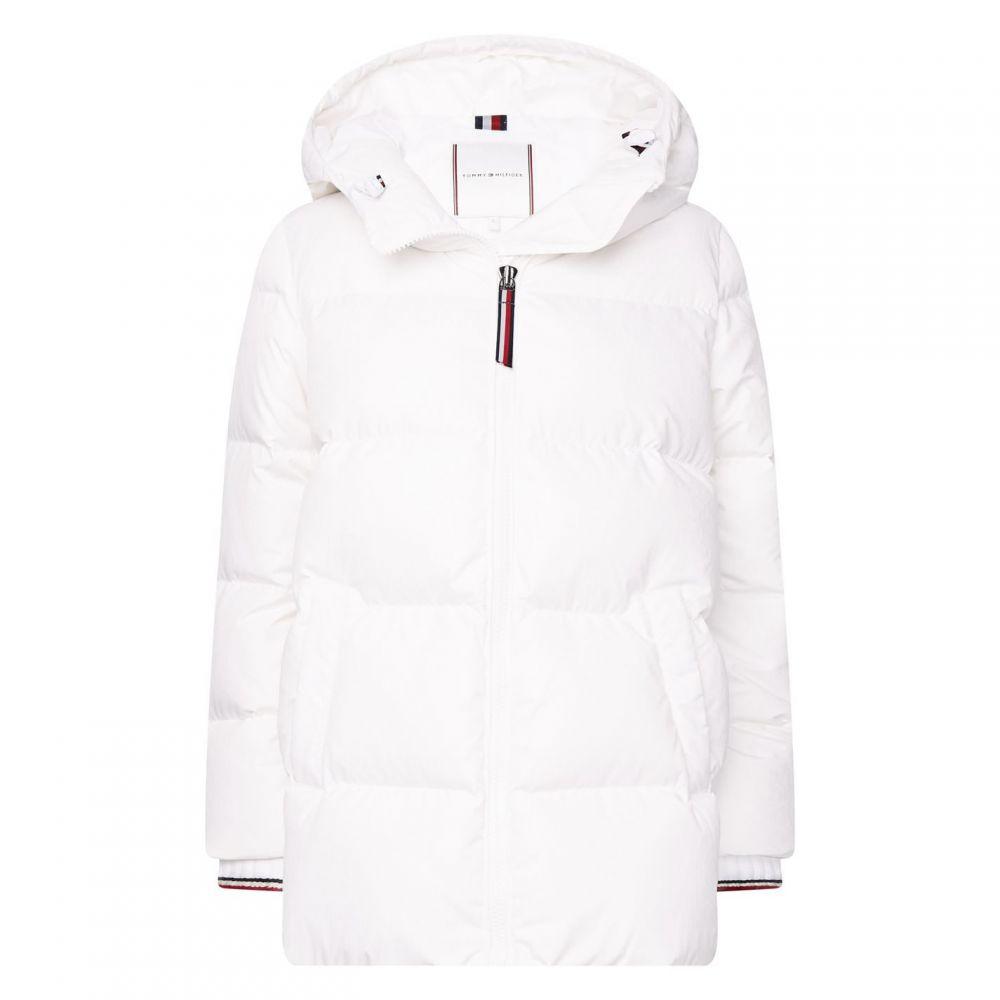 トミー ヒルフィガー Tommy Hilfiger レディース ダウン・中綿ジャケット アウター【New Amber Down Jacket】White