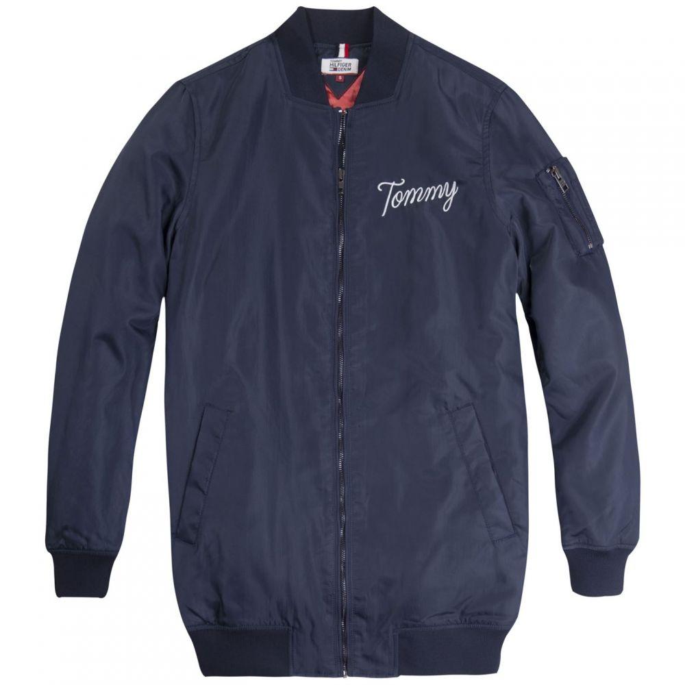 トミー ジーンズ Tommy Jeans レディース ブルゾン ミリタリージャケット アウター【Nylon Bomber】Blue