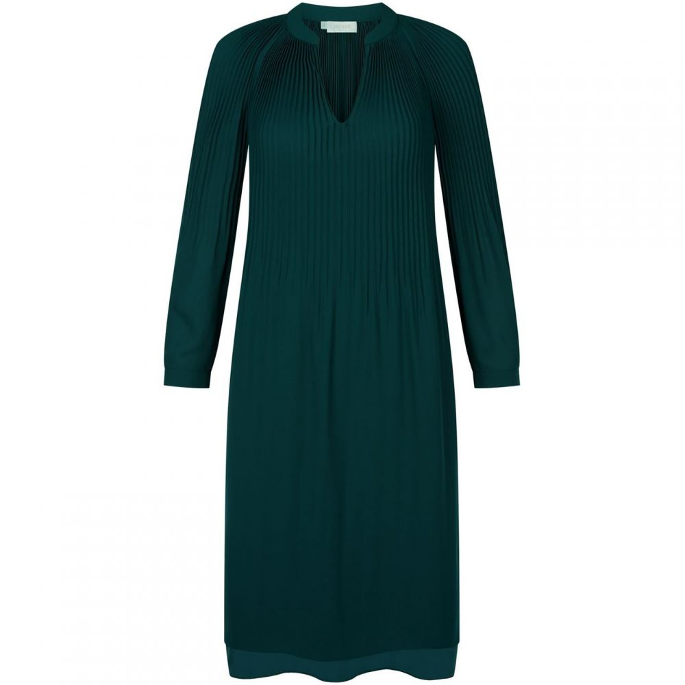 ホッブス Hobbs レディース パーティードレス ワンピース・ドレス【Emilia Dress】Dark Green