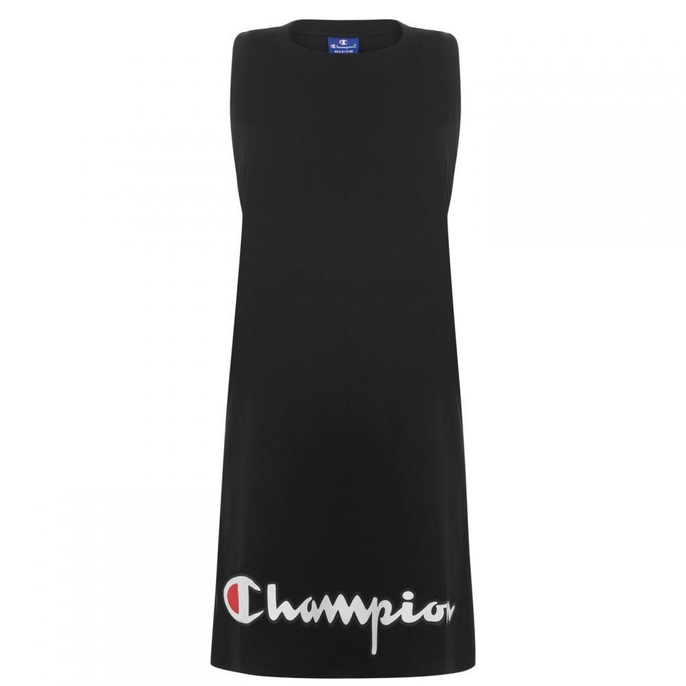 チャンピオン Champion レディース パーティードレス ノースリーブ ワンピース・ドレス【Sleeveless Logo Dress】NBK KK