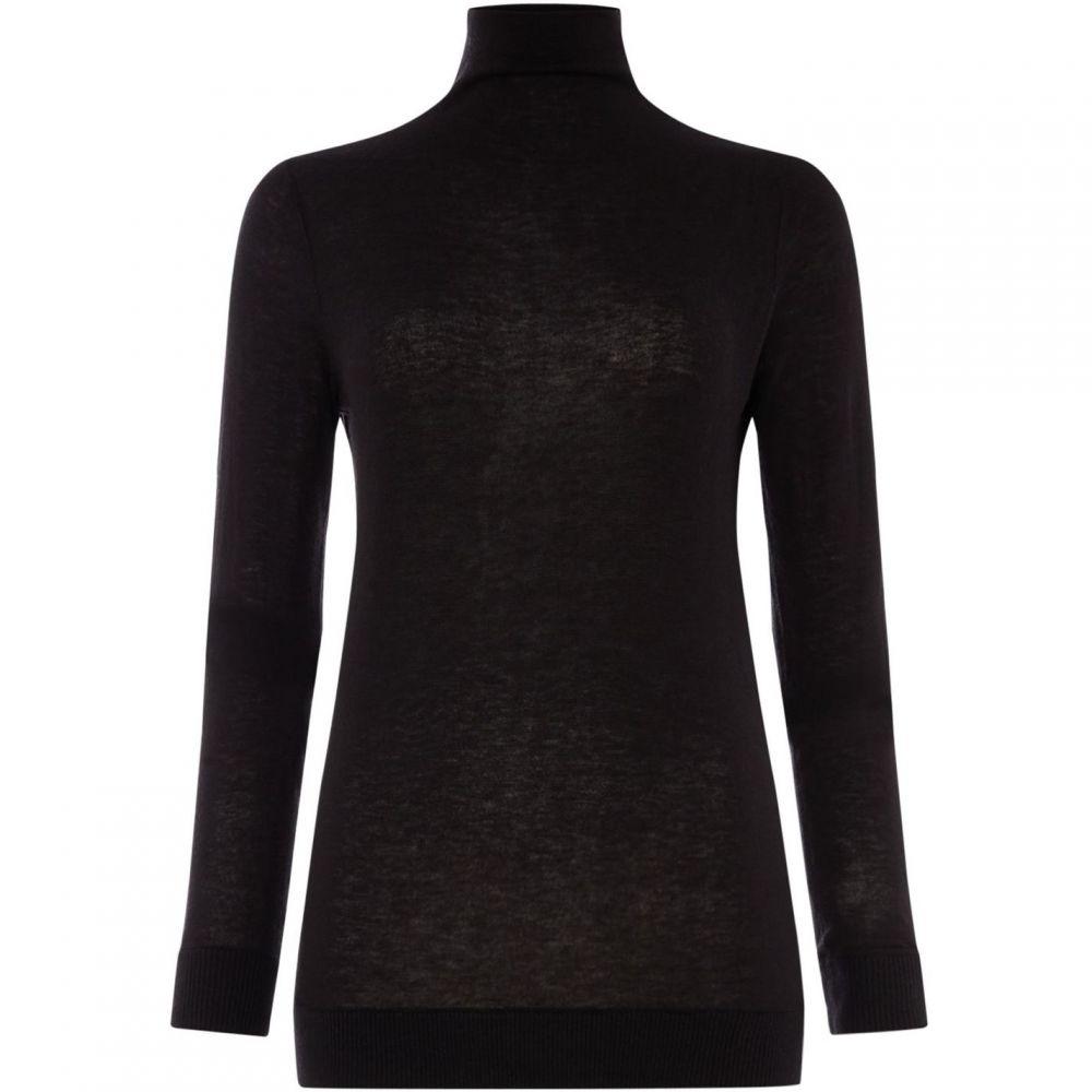 トミー ヒルフィガー Tommy Hilfiger レディース ニット・セーター トップス【Adelina High-Neck Sweater】Black