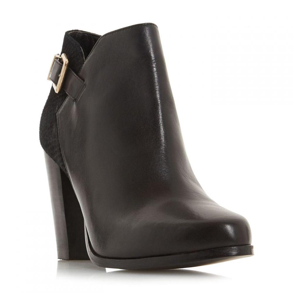 デューン Dune レディース ブーツ ショートブーツ シューズ・靴【Oleria Mixed Upper Ankle Boots】Black