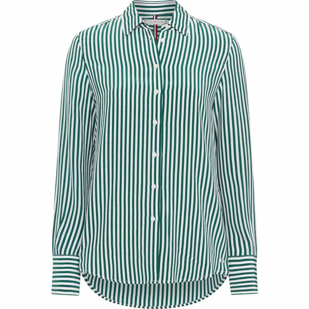 トミー ヒルフィガー Tommy Hilfiger レディース ブラウス・シャツ トップス【Fleur Shirt】Green