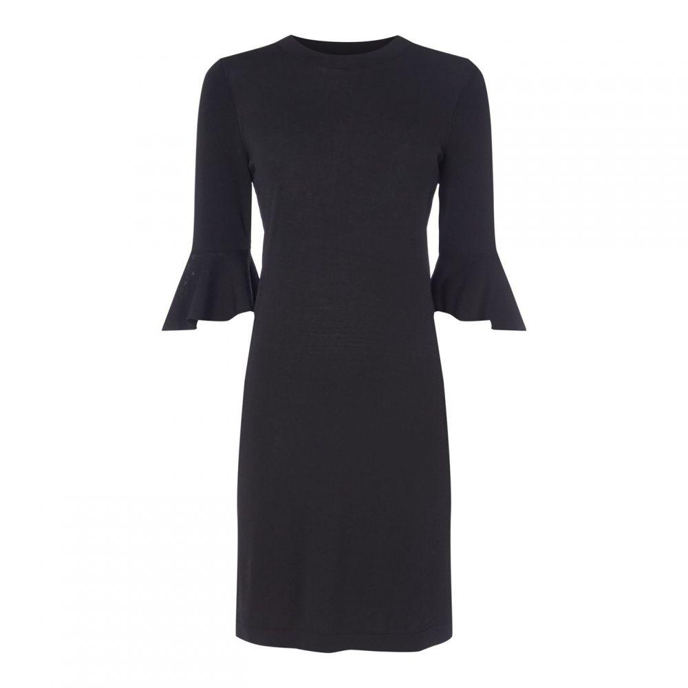 セット SET レディース ワンピース シフトドレス ワンピース・ドレス【Set Bell Shift Dress】BLACK