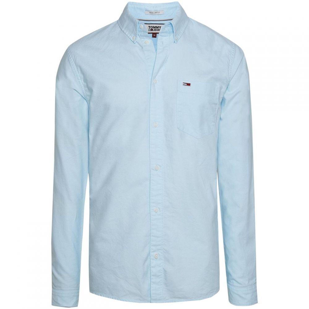 トミー ヒルフィガー Tommy Hilfiger レディース ブラウス・シャツ トップス【Tommy Jeans Classic Oxford Shirt】Green