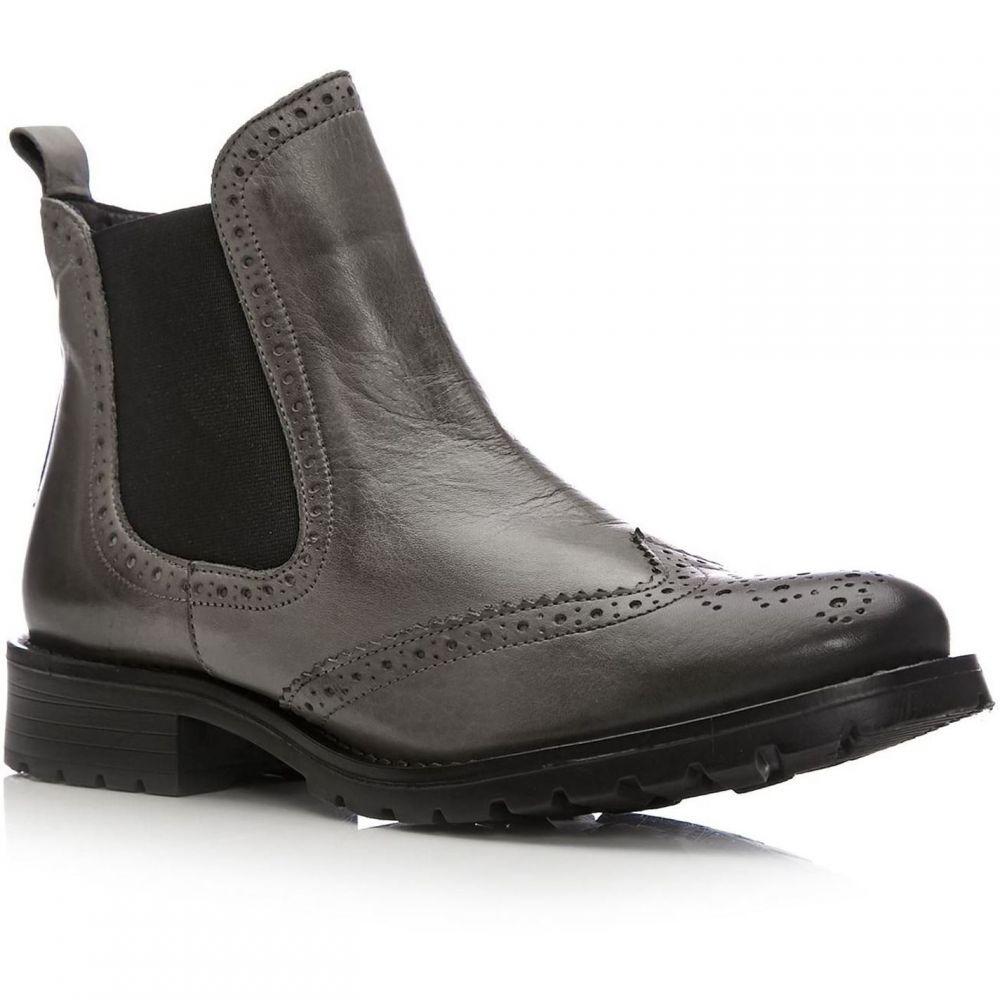 モーダインペレ Moda in Pelle レディース ブーツ シューズ・靴【Callio Low Casual Short Boots】Grey