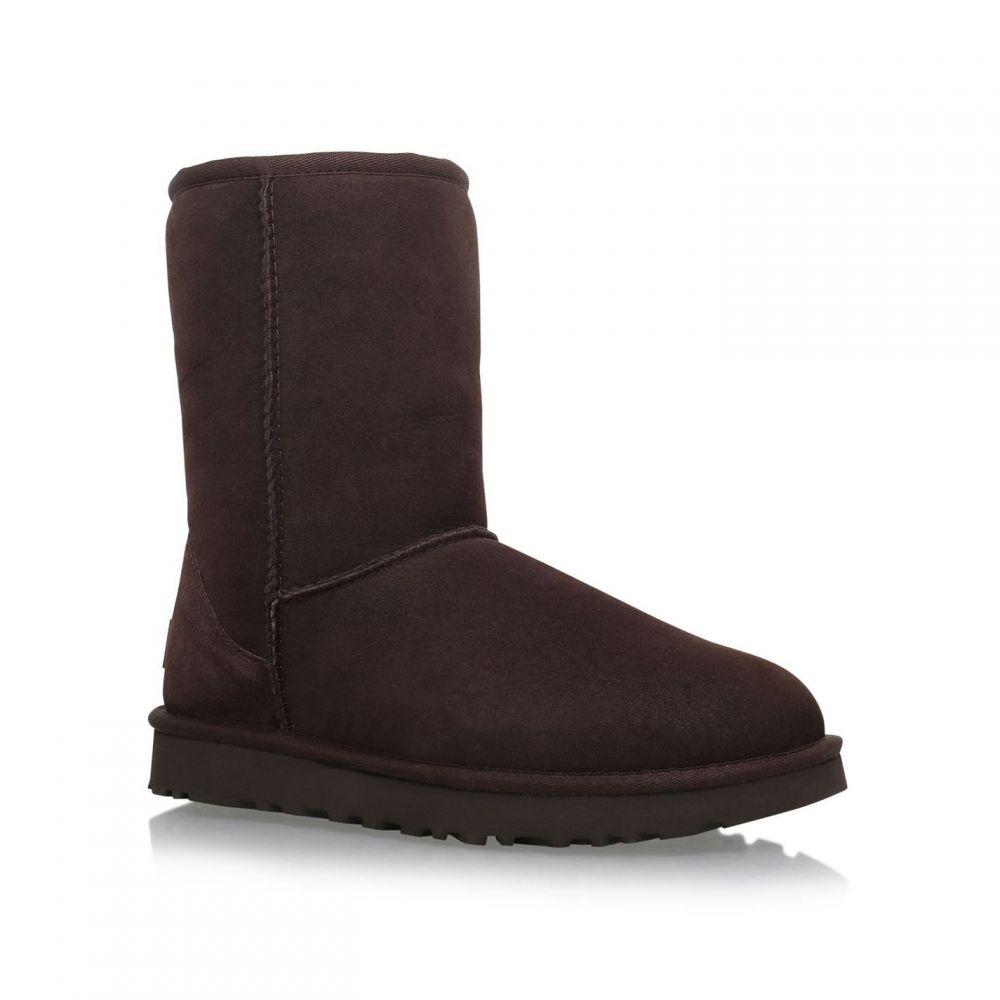 アグ Ugg レディース ブーツ シューズ・靴【Short Chocolate Classic II Boots】Brown