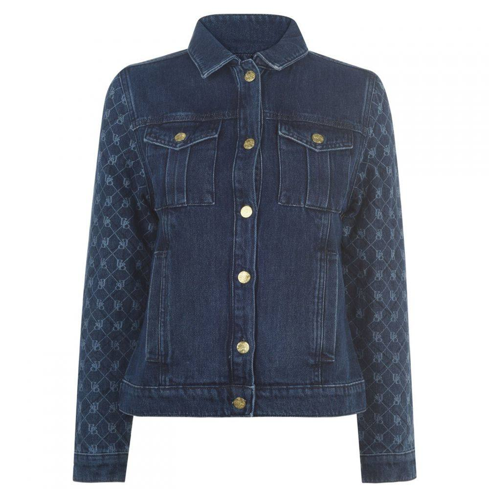 ビバ Biba レディース ダウン・中綿ジャケット Gジャン アウター【Quilt Denim Jacket】Blue