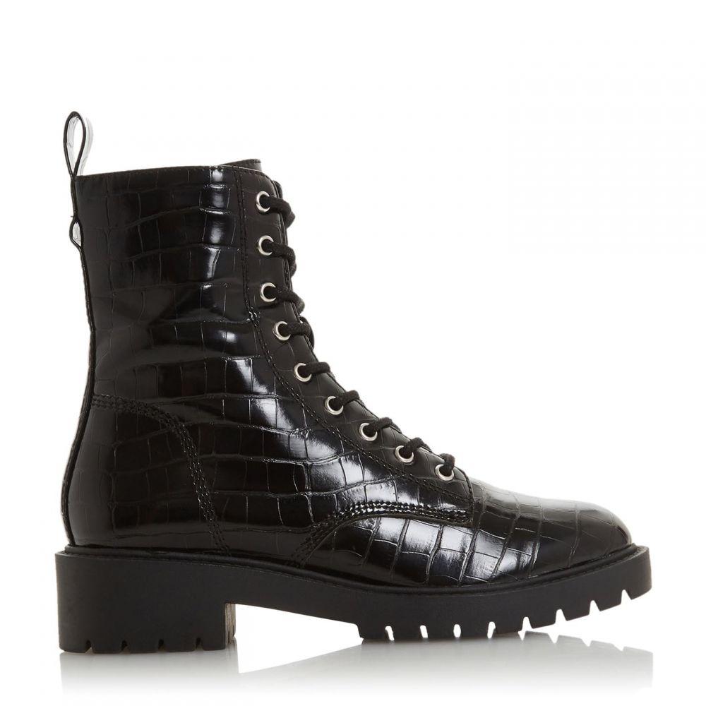 ヘッドオーバーヒールズ Head Over Heels レディース ブーツ レースアップブーツ シューズ・靴【Riana Lace Up Worker Boots】Black