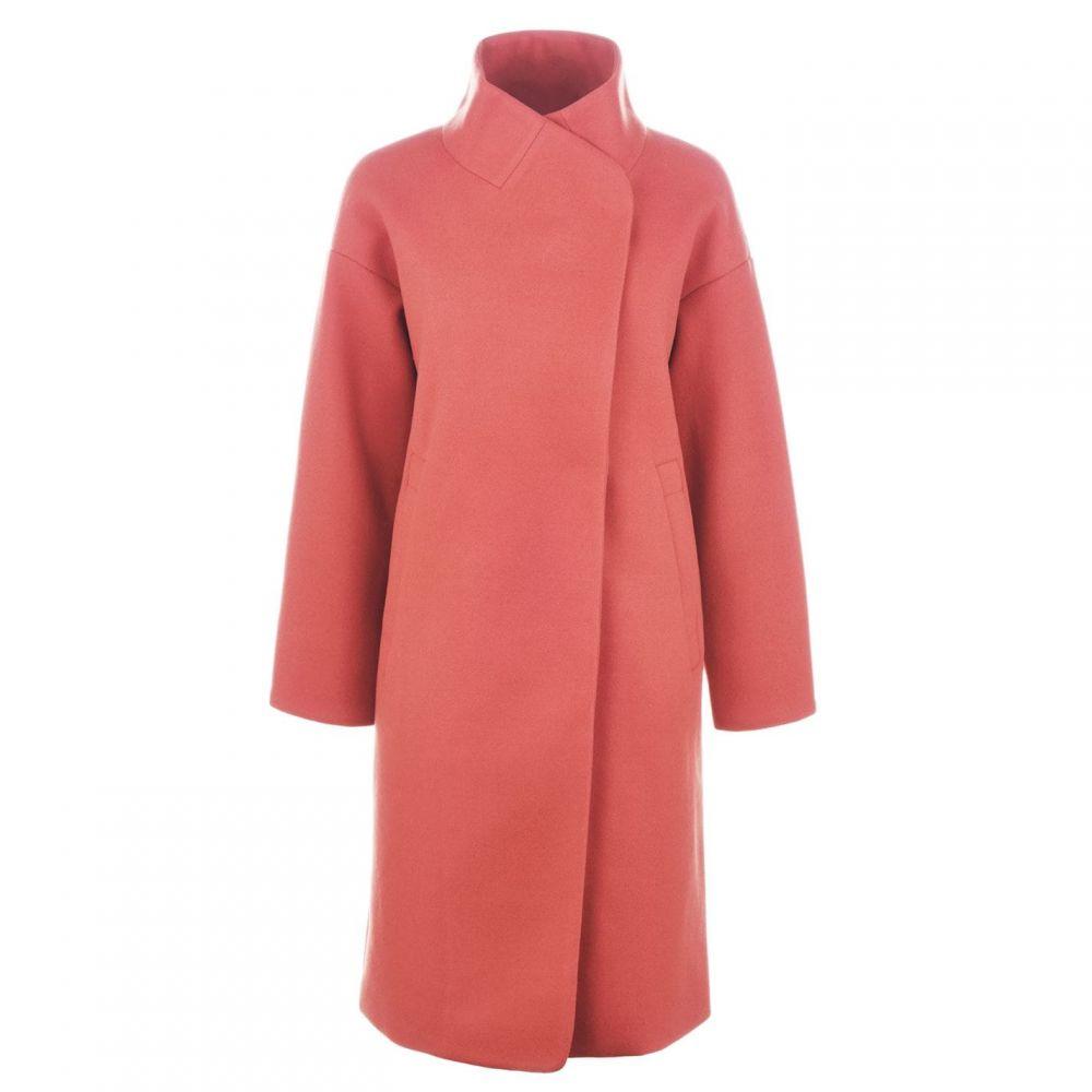 ビバ Biba レディース コート アウター【High Neck Coat】Pink