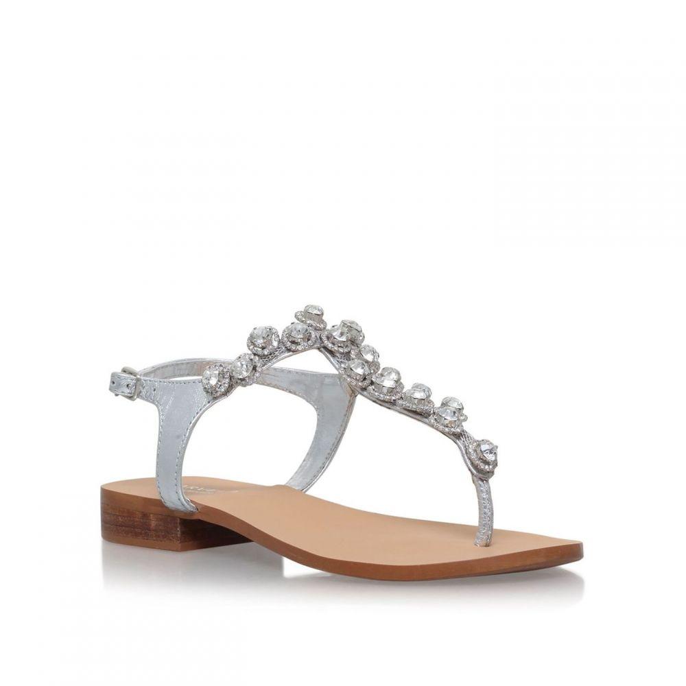 カーベラ Carvela レディース サンダル・ミュール シューズ・靴【Bebe 2 sandals】Silver