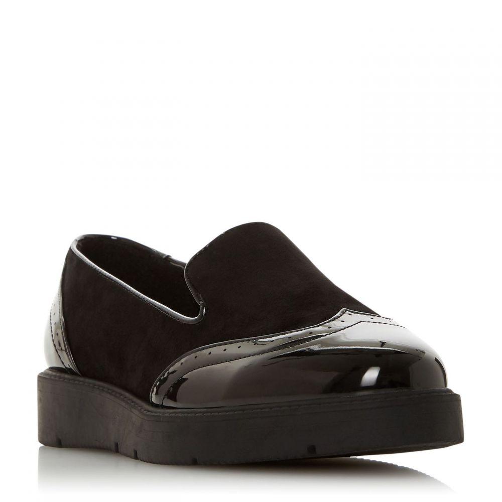 ヘッドオーバーヒールズ Head Over Heels レディース ローファー・オックスフォード シューズ・靴【Gambler Flatform Loafers】Black