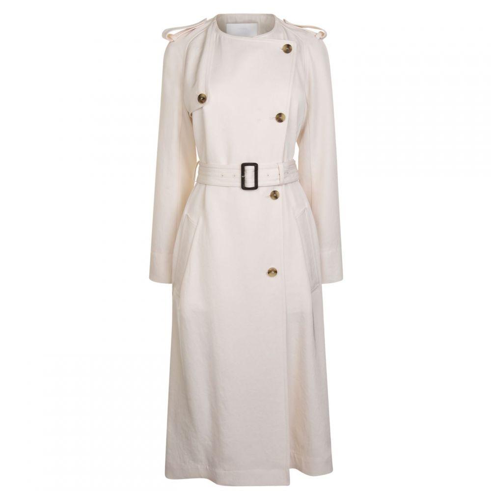 ヒューゴ ボス Boss レディース ワンピース ワンピース・ドレス【Dayada Trench Dress】OPEN WHITE